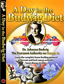 A Day in the Budwig Diet - Get the Book and the DVD today!
